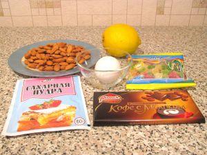 Миндальные конфеты. Ингредиенты