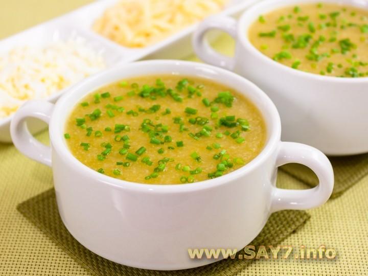 Рецепт Суп-пюре с кабачками и цветной капустой