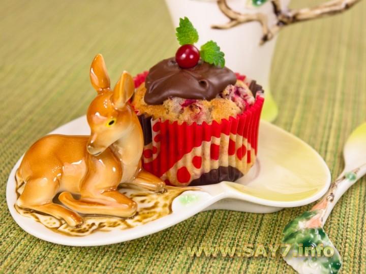 Рецепт Маффины с ягодой