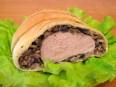 Мясо, запеченное в слоеном тесте с...