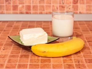 Банановый коктейль. Ингредиенты