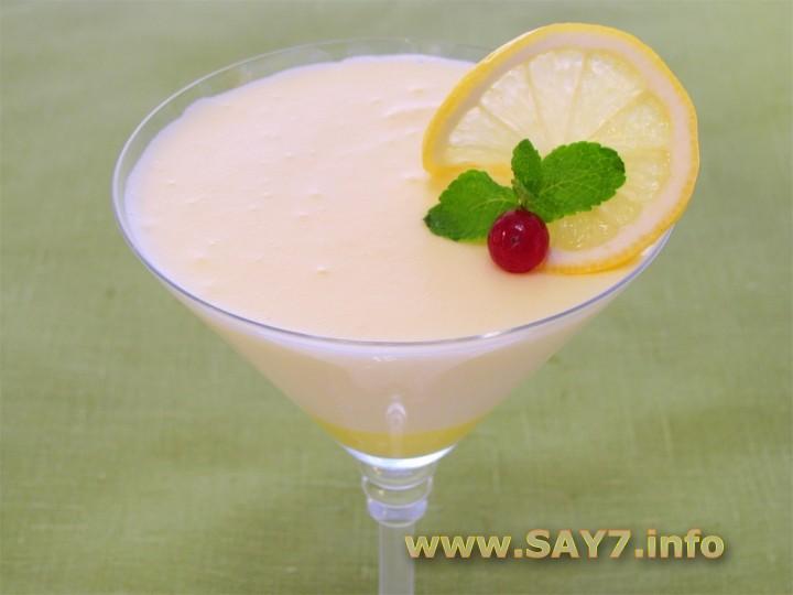Рецепт Десерт «Лимонный»