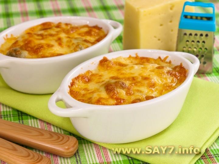 Рецепт Куриное филе и брюссельская капуста под соусом «Бешамель»