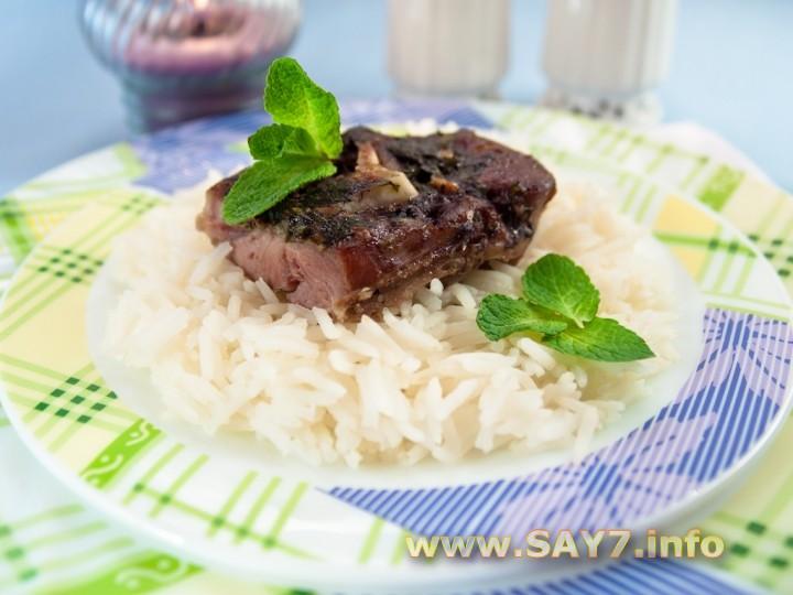 Рецепт Баранина с мятой