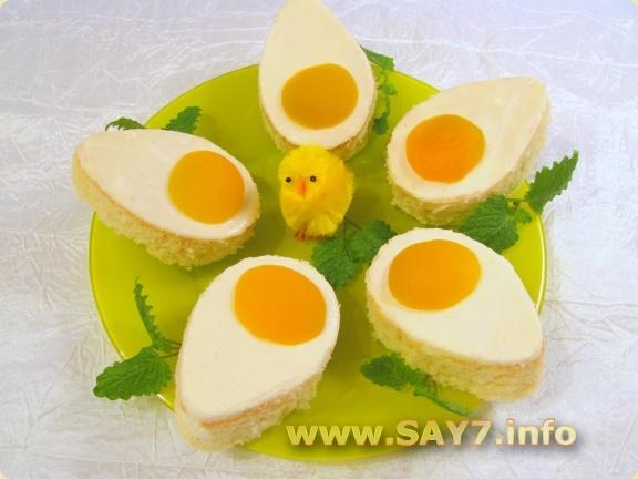Пирожное Пасхальное яйцо