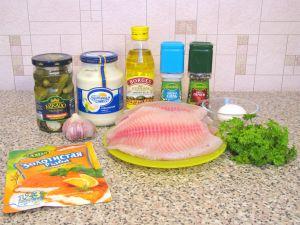 Рыба под соусом Тартар. Ингредиенты