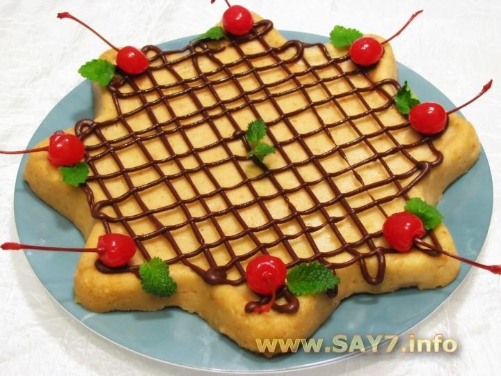 Рецепт Торт-пирожное «Неженка»
