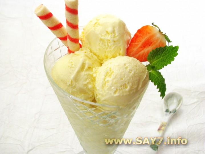 Рецепт Мороженое «Лимонное»