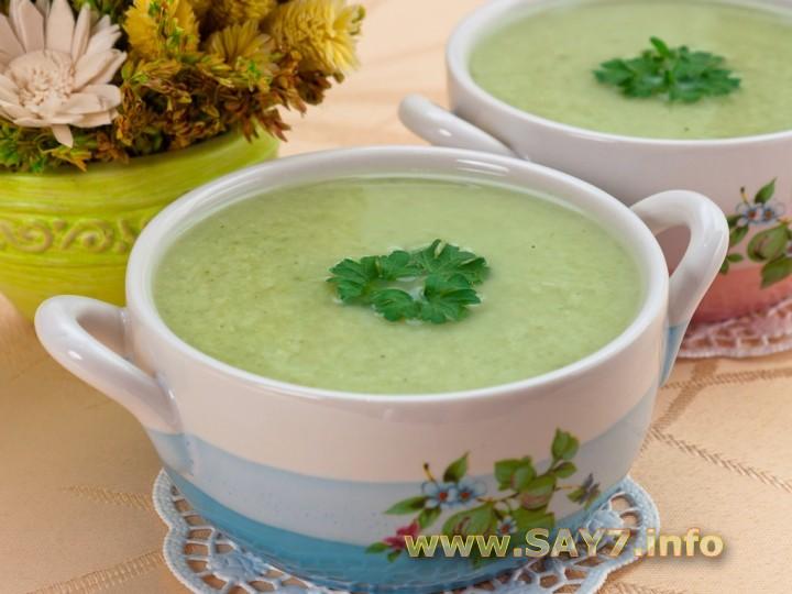 Рецепт Суп-пюре с брокколи и куриным филе