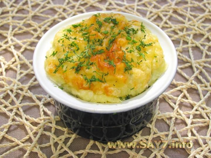 Рецепт Картофельное суфле