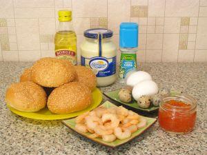 Закуска Морская раковина. Ингредиенты
