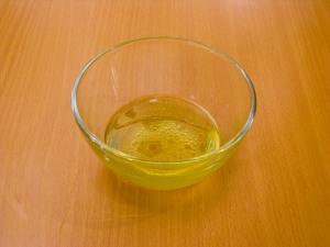 Заправка к салату с растительным маслом