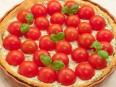 Пирог с рикоттой и помидорами