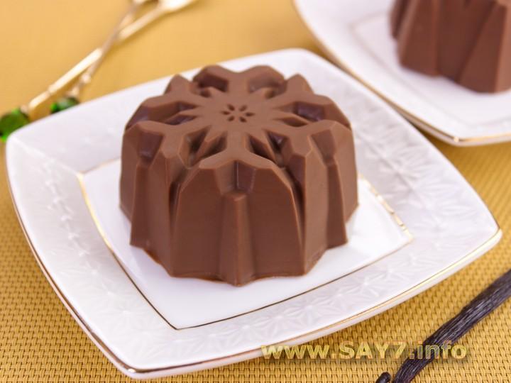 Рецепт Ванильно-шоколадное мороженое в шоколадной глазури