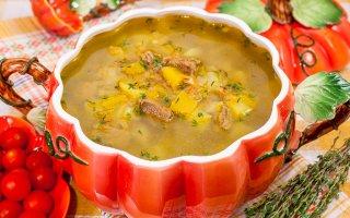 Суп с тыквой Краски осени
