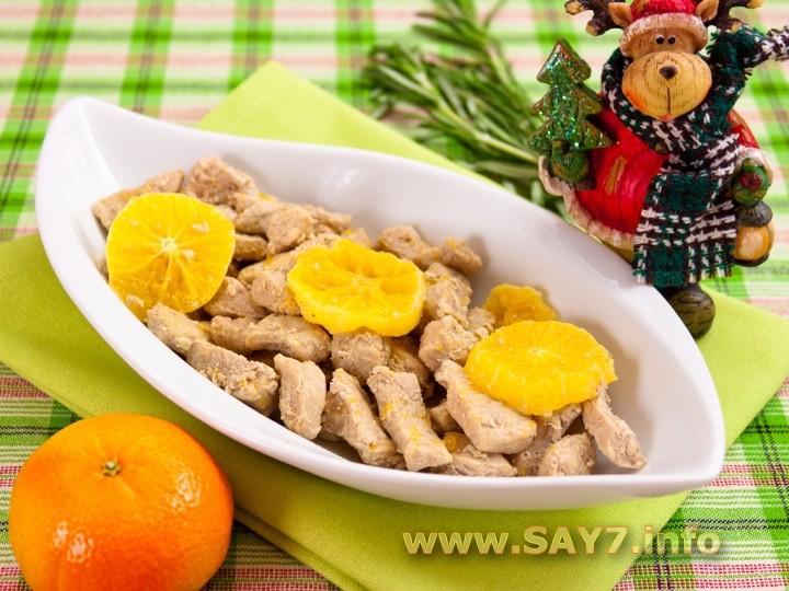Рецепт Свинина «Новогодний аромат»