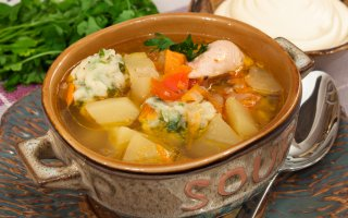 Комментарии к рецепту: Суп с клёцками картинки