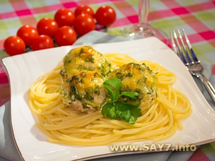 Рецепт Куриные тефтели в сливочном соусе