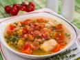 Суп с машем и беконом