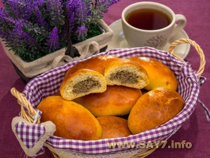 Рецепт Пирожки с печенью