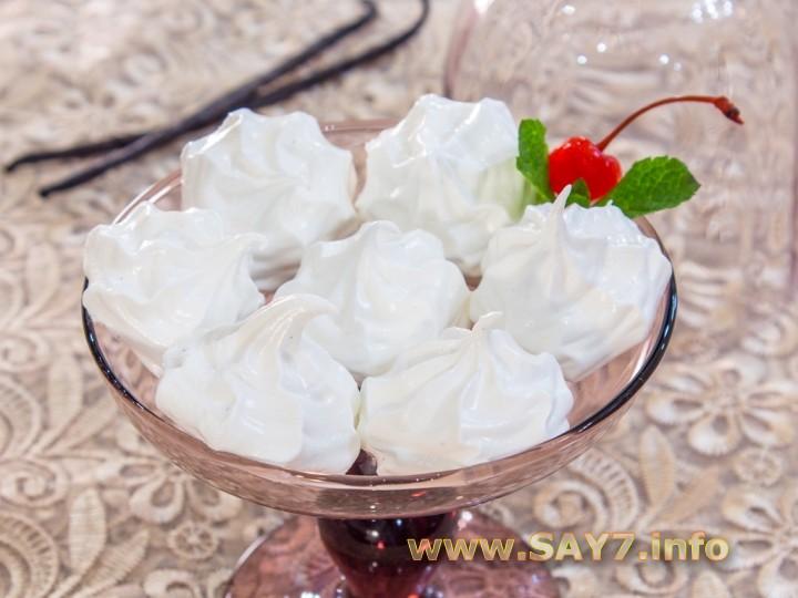 Рецепт Зефир «Ванильный»