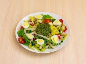 Салат с индейкой без майонеза рецепт