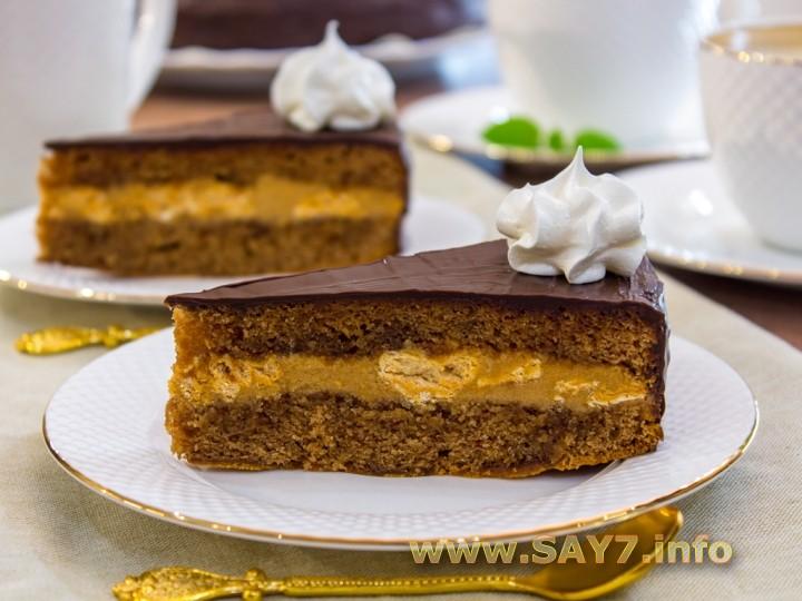 Шоколадный торт Восторг