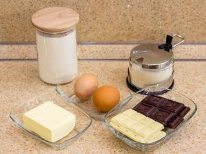 Мадленки Двойной шоколад. Ингредиенты