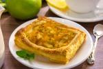 Тарты с тыквой и яблоками