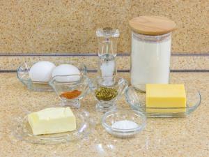 Сырное печенье. Ингредиенты