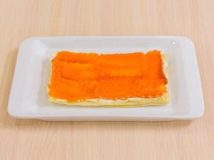 1112 0734glq 2401 p Рецепт: Закусочные пирожные из слоеного теста, форели и авокадо