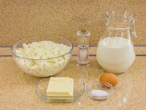 Сыр Домашний. Ингредиенты
