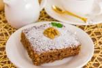 Шоколадно-творожный пирог с грецкими...