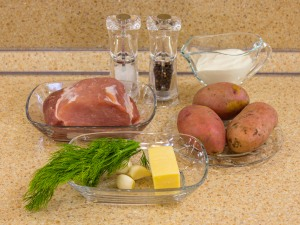 1135 010069kpk 3567 p Рецепт: Свинина под картофельной шубкой