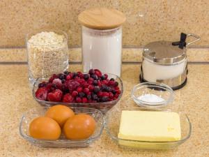 1140 010022h1d 7164 p Рецепт: Кекс с ягодой и овсяными хлопьями