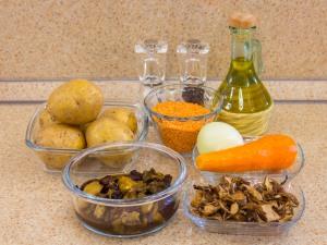 1144 0100939nx 6903 p Рецепт: Суп с чечевицей и белыми грибами