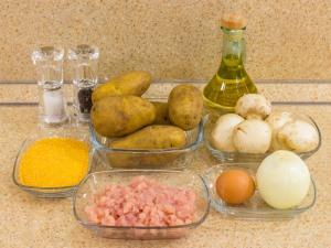 1150 010091nx0 7750 p Рецепт: Котлеты из картофеля с фаршем и грибами