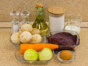 1159 010029gya 8980 p Рецепт: Печеночные котлеты под грибным соусом