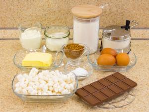 1164 010050spb 8498 p Рецепт: Шоколадно кокосовый кекс с маршмеллоу