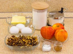 1170 010037pkm 8655 p Рецепт: Печенье с яблоками и грецкими орехами