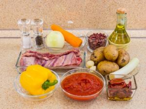 1180 0100356sd 8759 p Рецепт: Суп с бараньими ребрышками, фасолью и томатами