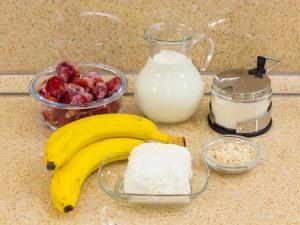 1183 010022ty4 3821 p Рецепт: Бананово клубничный смузи