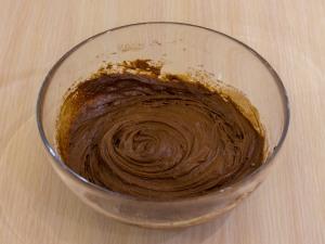 1197 073461q 6610 p Рецепт: Шоколадный пирог с бананами и карамельным соусом
