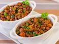 Фасоль с томатами (гарнир)