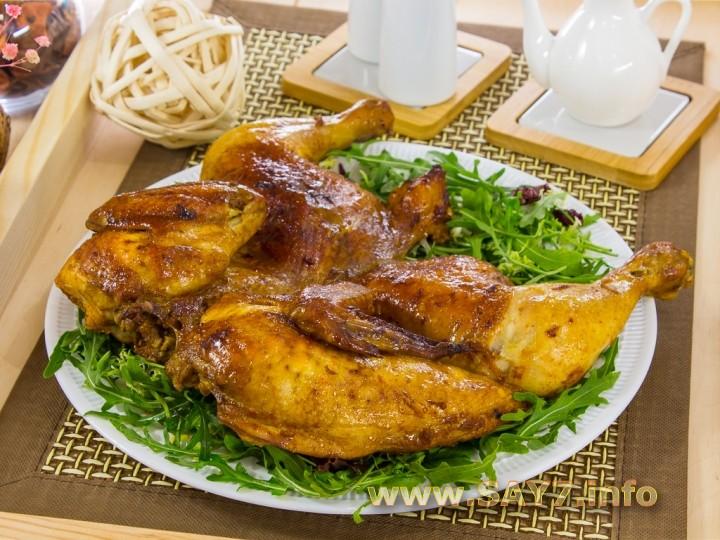 Рецепт Курица, маринованная в имбире и соевом соусе