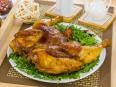Курица, маринованная в имбире и соевом соусе