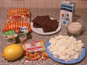 Торт с воздушной кукурузой. Ингредиенты